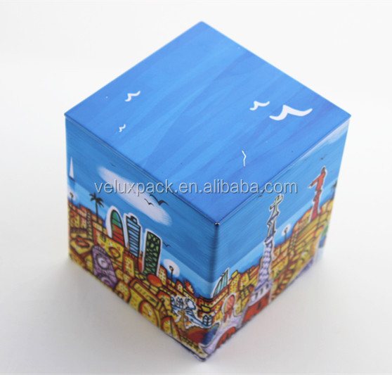 Tea Packaging Box Right Angle Tin Box with Inner Lid