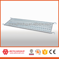 6063-T5 aluminum skidproof stainless metal board scaffold aluminum plank decking