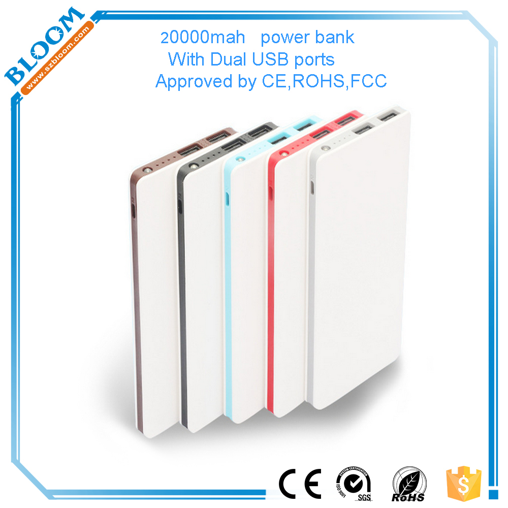 2017 new product Power Bank 10000mah portable charger external Battery 10000 mah mobile phone charger
