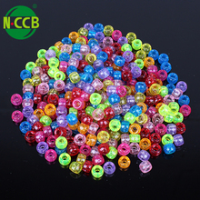 20 mm big hole plastic beads for jewelry making