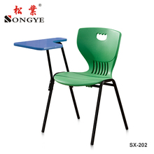 Plastic Leisure Chair ,PP Sketching Durable Chair School Furniture,With Tablet Chair