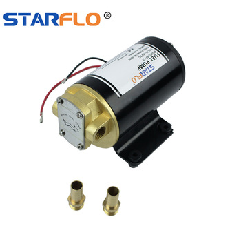 STARFLO FP-12 12V DC 14LPM fuel transfer hydraulic gear oil pump for water and machinery