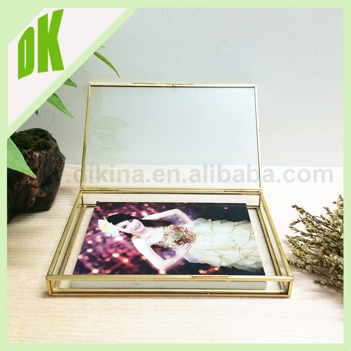 "*~ ** 4"" x 6"" photo inserted from the back of the frame >>durable old Shabby Vintage wedding bulk digital photo frame"