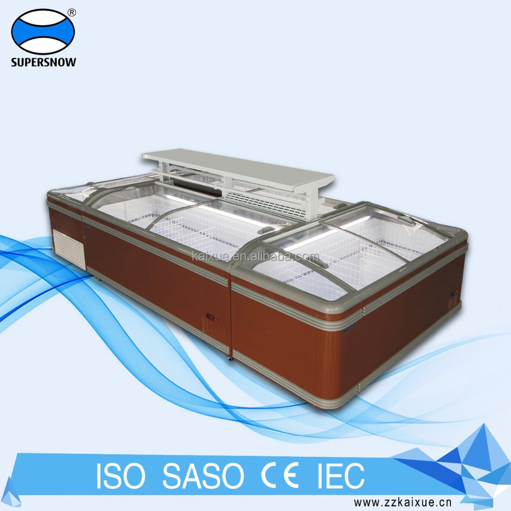 Countertop Fish Portable Fridge Cryogenic Display Freezer