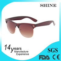 Best Design UV400 fashion sunglasses side protections