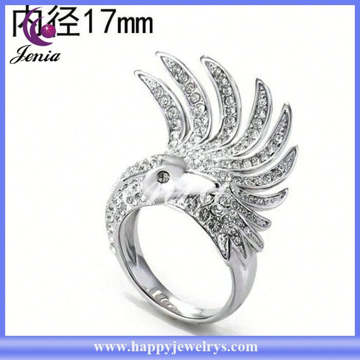 New style high quality factory price ring indian engagement rings gold YWR2851-1