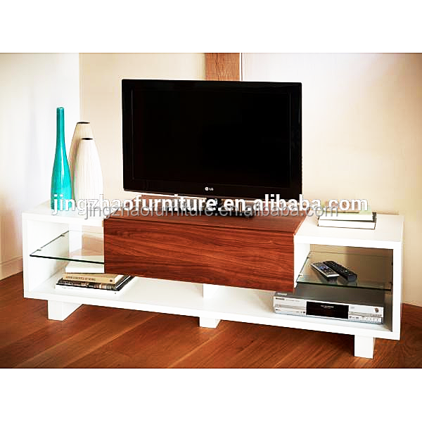1600 x 490 x 405mm MDF high gloss wooden lcd tv stand/table design made in china