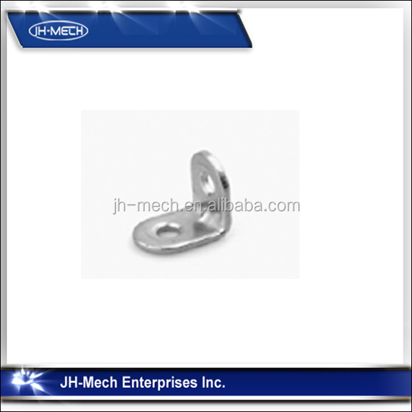 High quality l shaped small metal angle bracket