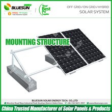 Bluesun factory supply 10years warranty PV system mounting solar panel rack