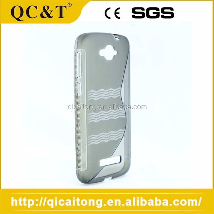 Slim Fit S Line Tpu Cell Phone Case For Alcatel OT8020D