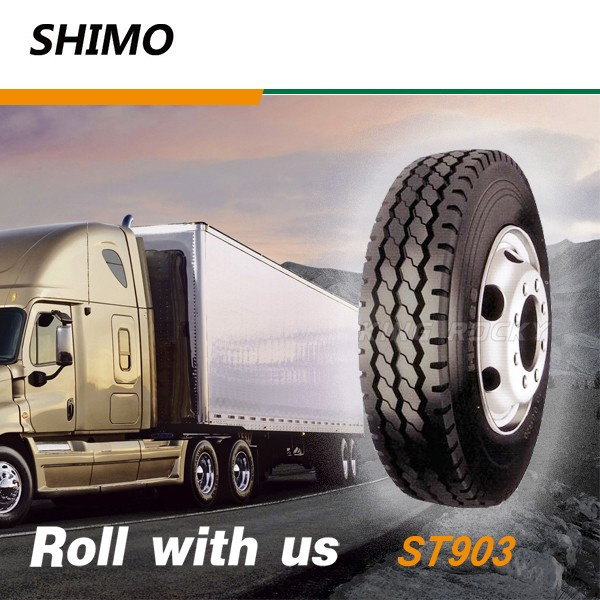 SHIMO ST903 low heating truck tire factories in thailand 10.00R20