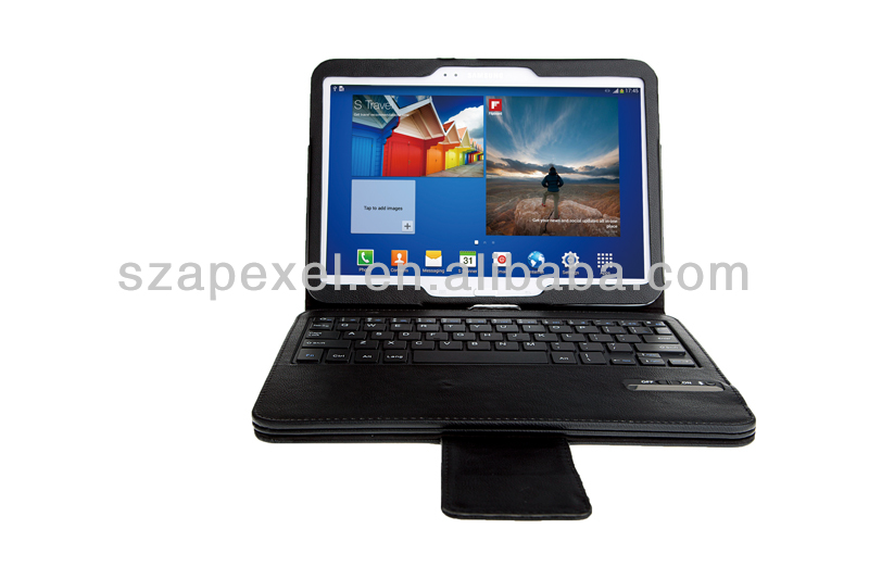 Removable tablet keyboard case for Samsung Galaxy Tab 3 10.1 P5200