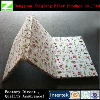 Dongguan Washable Fold Mattress For Camping