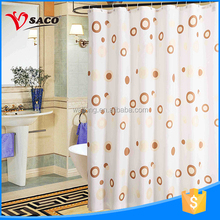 2017 hot sale low price simple design curtains for shower room