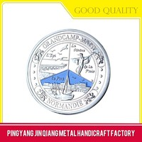 Newest design top quality blank metal coin