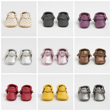 multiful colors handmade baby leather moccasins