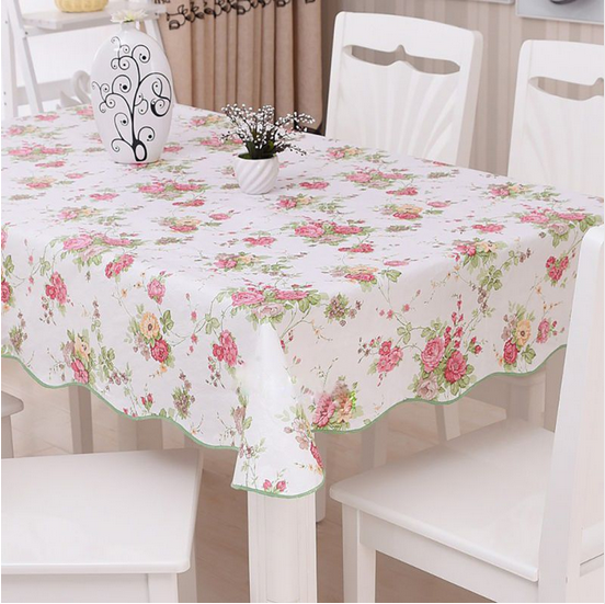 oriental plastic pvc tablecloth in roll and chair cover