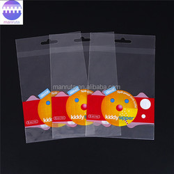 Leading Manufacture custom printing self adhesive plastic packing clear opp bag