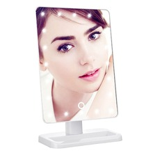 Battery operated touch screen backlit illuminated lighted makeup led mirror lighted magnifying makeup mirror
