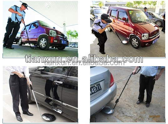 TX-V01 under vehicle inspection mirror flexible and retractable rod