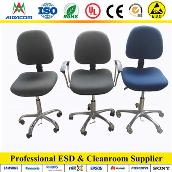 New Blue grey Cleanroom ESD fabric chairs