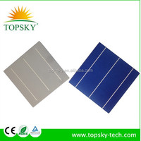 hot sale good quality 6x6 inch (156x156mm )with high efficiency solar cell for panels,made in Taiwan/Germany