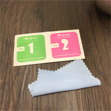 Factory price customized logo medical alcohol 3*6cm soft wet wipes and pad