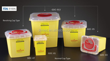 Sharp container 1L/3L/5L/7L/13L for choose
