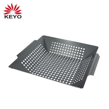 stainless steel bbq grill accessories charcoal barbecue set bbq tools grill pan for vegetable