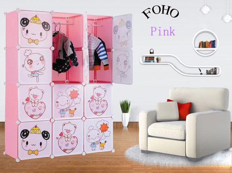 2014 Newest Modern Bedroom Wardrobe For Kids In Cabinet