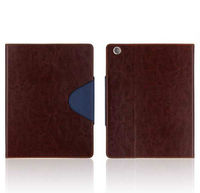 for the new iPad 4 slim case stand PU leather smart cover