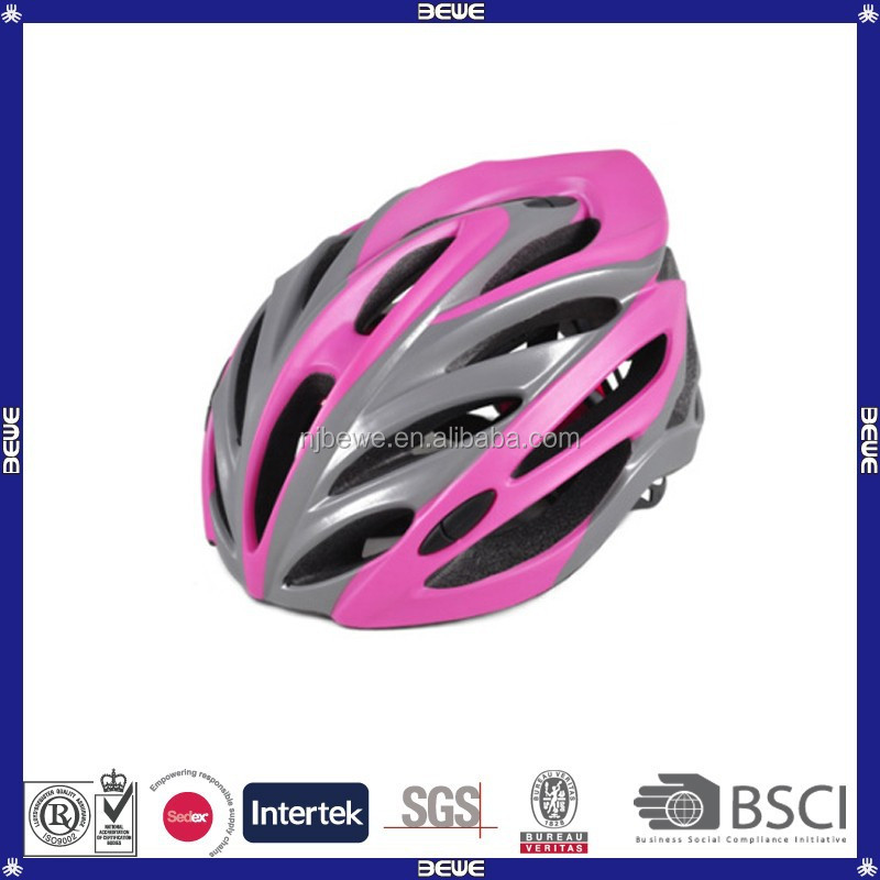 China suuplier 22 vents women bike helmet