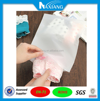 Keep Clean and damp waterproof pvc plastic bag for bra for traveling