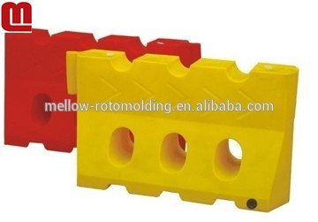 Mellow High quality Heavy duty plastic water filled road barrier