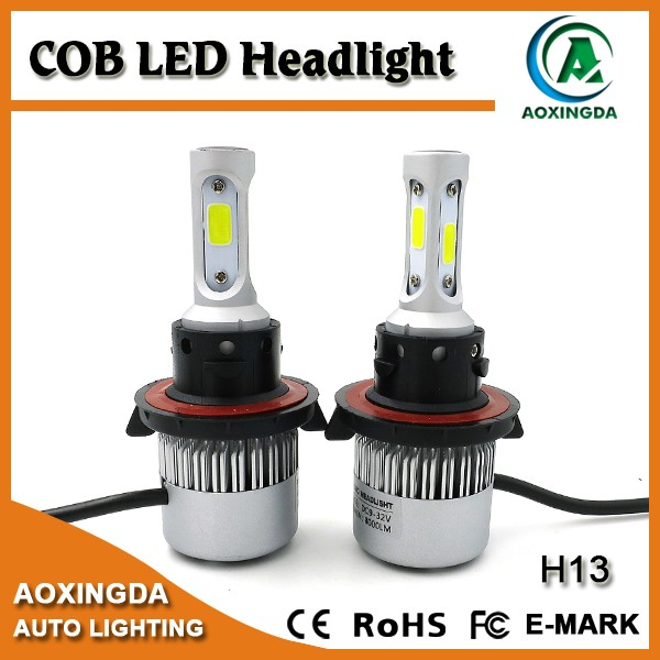 Automobiles & motorcycles 4000LM COB 9007 H4 H13 car led headlight