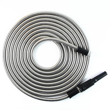 New Products 2018 Innovative Product 304 Stainless Steel Metal Garden Hose Pipe