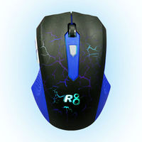 Game Mouse with LED Light,Mickey Mouse
