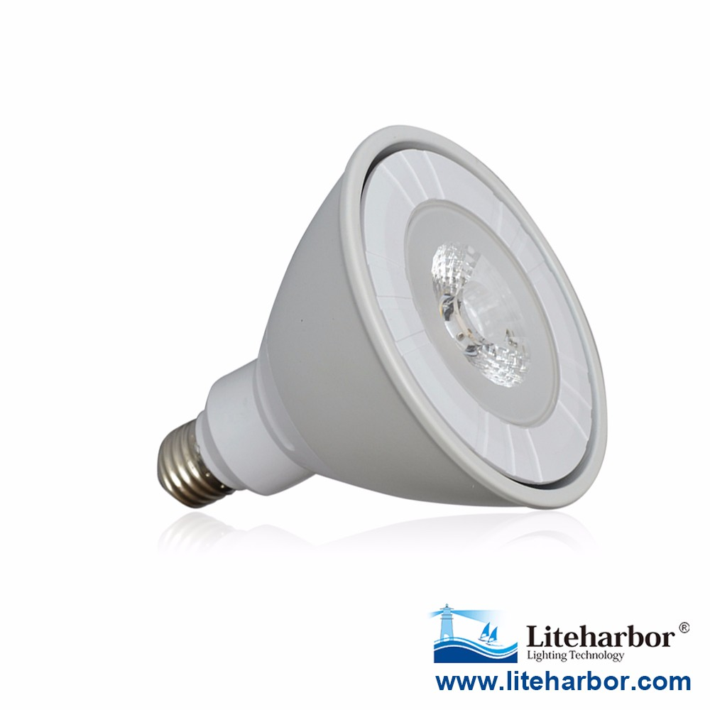 North American Market UL ETL 1400LM AC85-265V 22W E26 E27 Base Dimmable COB PAR38 LED Lamp Light Bulb
