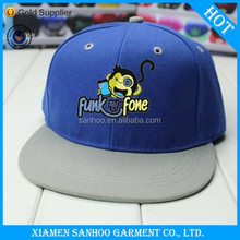 Fashion Custom Promotional Cheap Embroidery Blank Wholesale High Quality 100% Cotton Snap Hats Men