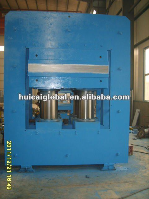 Plate press machine for curing bamboo plate