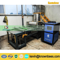 KN-BM3 full auto beeswax foundation machine with 170*350 mm aluminium alloy roller
