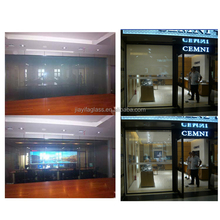 magic screen glass electric smart glass tint pdlc film inteligent glass