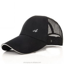Men's outdoor sports Baseball Cap Hat male summer sunscreen breathable mesh cap with sandwich