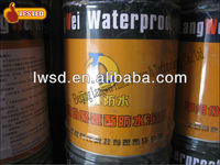 One component white color PU waterproof coating with high solid content