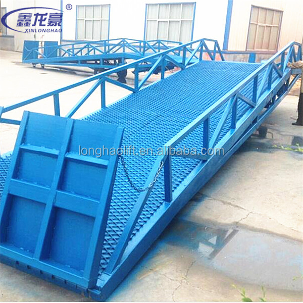 Truck Container Load / Unloading Yard Ramp