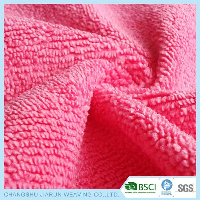 Cleaning cloth microfiber fabric in rolls
