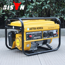 BISON CHINA TaiZhou 100% copper Home Electric 220v 2kva Astra Korea Gasoline Generator