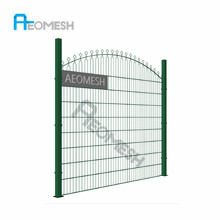 Manufacturer ISO9001 868 double wires pvc welded mesh fence
