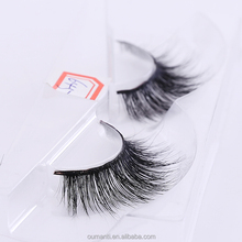 2018 new style 3d mink eye lashes and custom package with 100% cruelty free mink lashes