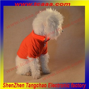 Hot sale Plain Color led flashing factory pet dog clothing